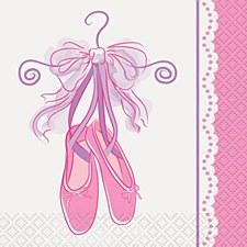 Pink Ballerina Bev. Napkins