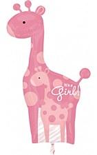 """42""""Safari baby Girl Giraffe"""