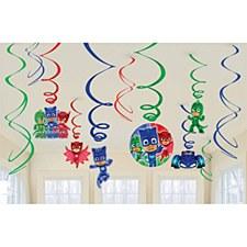 PJ Masks Swirl Decorations