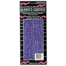 1-Ply FR Gleam 'N Curtain Purple