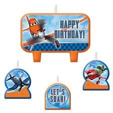 Planes Birthday Candle Set