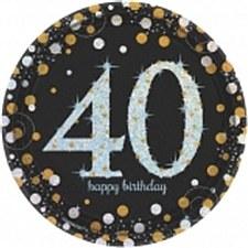 "Sparkling Celebration 40 7""Plate"