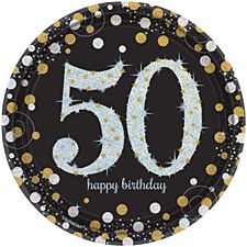 "Sparkling Celebration 50 7""Plate"