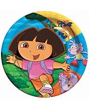 """Dora The Explorer 9""""Plates"""