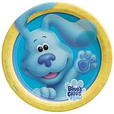 "Blues Clues 9""Plates"