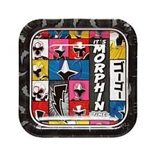 Power Ranger Plates