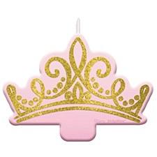 Disney Princess Glitter Birthday Candle