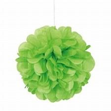 3 Lime Green Mini Puff Balls