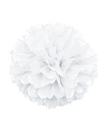 16in White Puff Ball
