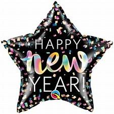 """2"""" New Year Iridescent Star"""