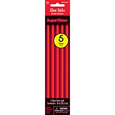 "8"" Glow Sticks - Red"