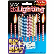 Relighting Candle
