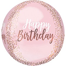Blush Birthday Orbz