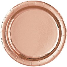Rose Gold 9' Plate