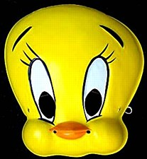 Tweety Bird Mask