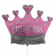 Air Filled Princess Tiara Balloon
