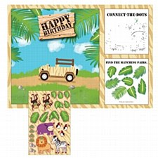 Activity Placemats with Stickers