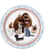 "The Secret Life Of Pets 9""Plates"