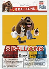 The Secret Life Of Pets Balloons