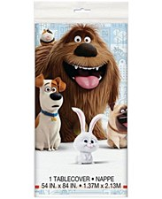 The Secret Life Of Pets Plastic Tablecover