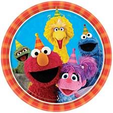 "Sesame Street 2 9""Plates"
