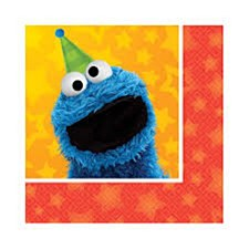 Sesame Street Bev. Napkins