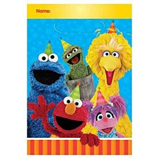 Sesame Street Loot Bags