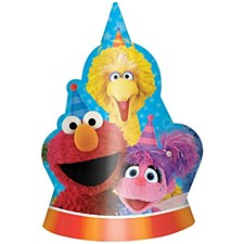 Sesame Street Cone Hats