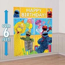 Sesame Street Wall Decorating Kit
