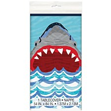 Shark Party Table Cover