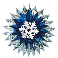 Snowflake Fan-Burst