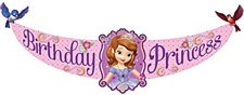 Sofia The Firts Birthday Banner