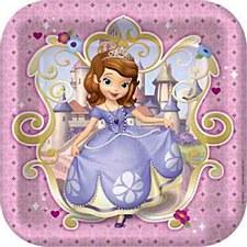 """9"""" Sofia The Firts Plates"""