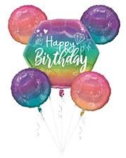 Sparkle Birthday Balloon Bouquet