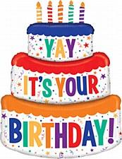 48in. Birthday Cake