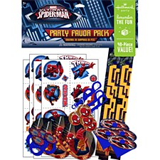 8ct SPIDERMAN PARTY FAVORS