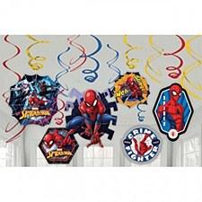 Spider-Man Swirl Decorations