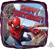 "18""Spiderman Happy Birthday"