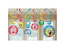 SpongeBob Squarepants Swirl Deorations