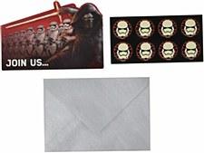 STAR WARS INVITATIONS CARDS
