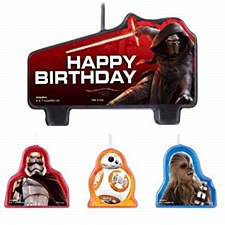 Star Wars Candle Amscan 171506