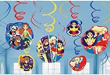 Super Hero Girls Swirl Decoration