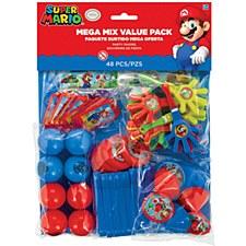 Super Mario Party Favor Pack