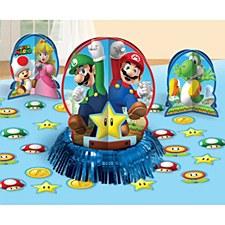 Super Mario Table Decoration