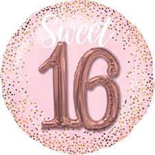 Sweet 16th Blush Multi Balloon