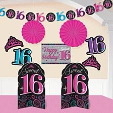 Sweet 16 Room Decorating Kit