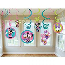 Minnie Mouse Bow-Tique Swirl Decorations