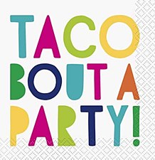 Taco Bout A Party Lunch Napkins