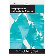 Teal Fringe Garland Unique 63640