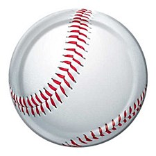 "All Star Baseball 9""Plates"